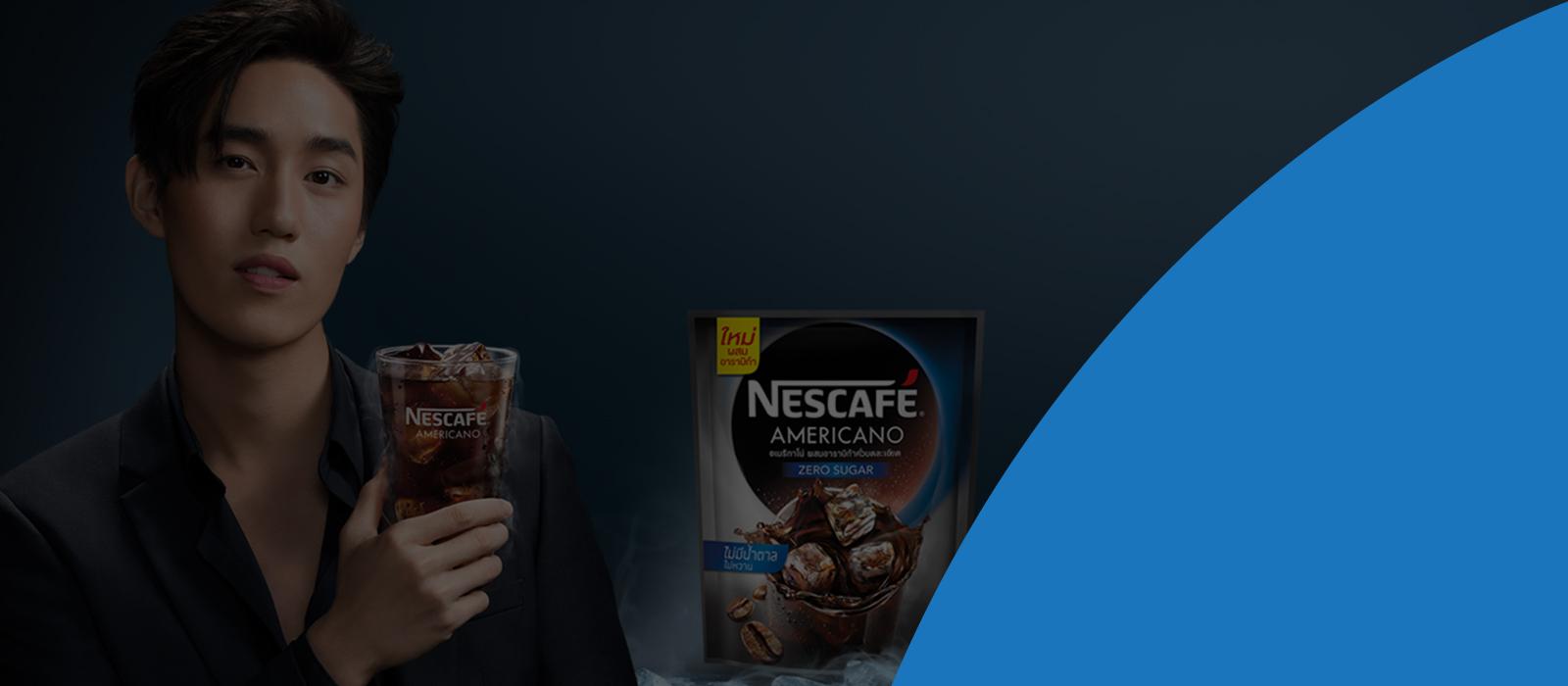 Tea and coffee advertisement